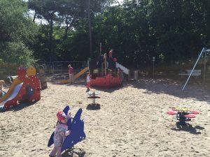 Spielplatz für kleine Kinder