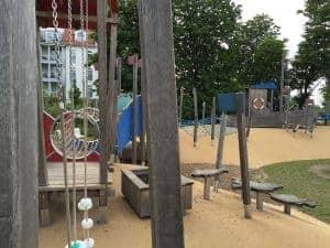 Spielplatz in Kühlungsborn Ost nähe Hafen